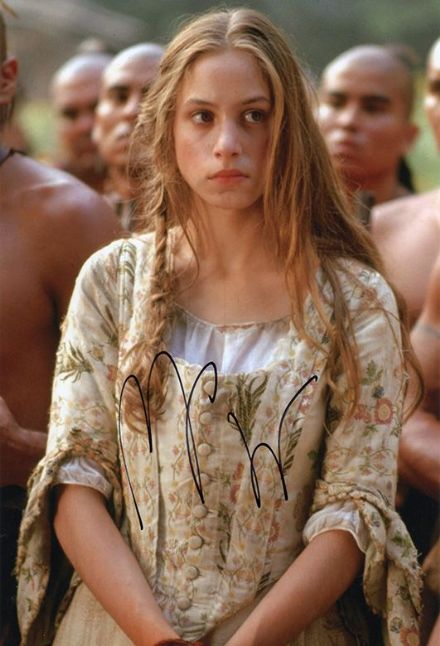 Jodhi May, The Last of the Mohicans, signed 12x8 inch photo.